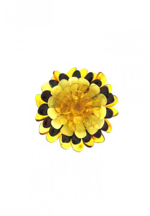 Ciondolo in Ambra a forma di fiore AMCNSP04
