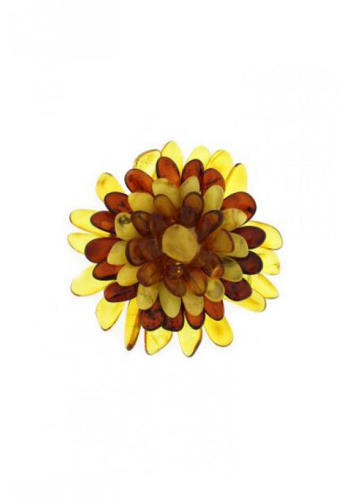 Ciondolo in Ambra a forma di fiore AMCNSP02