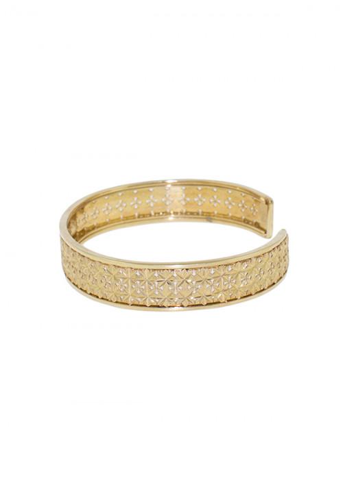 Bracciale Donna Oro 18 Kt -  Rigido Oro Giallo