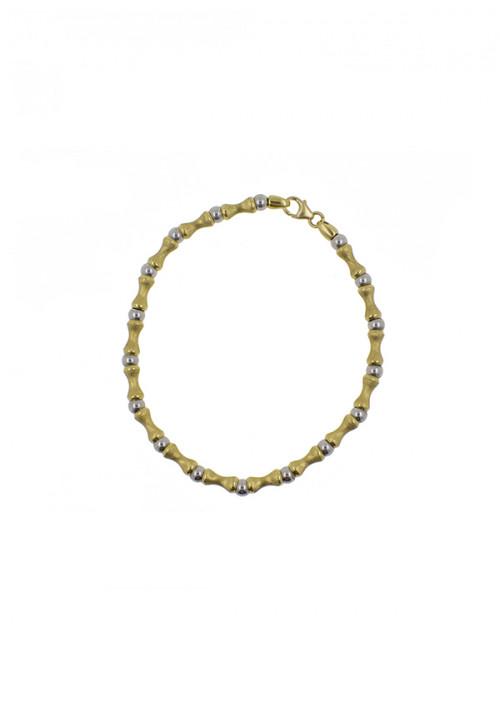 Bracciale Donna Oro 18 Kt -  Bicolore
