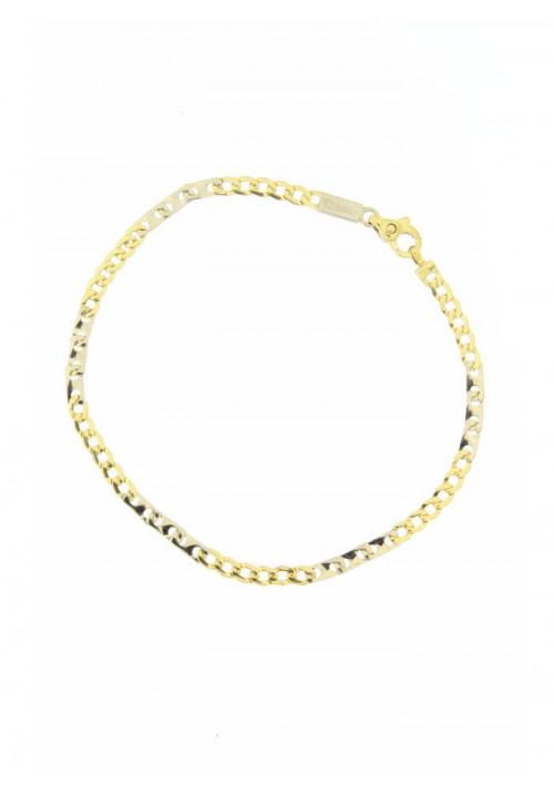 Bracciale Unisex Oro 18 Carati -  Maglia Classica Piccola Gold