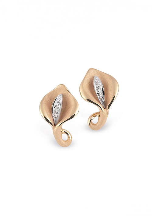Annamaria Cammilli - Orecchini in Oro 18 Kt e diamanti | Calla Collection