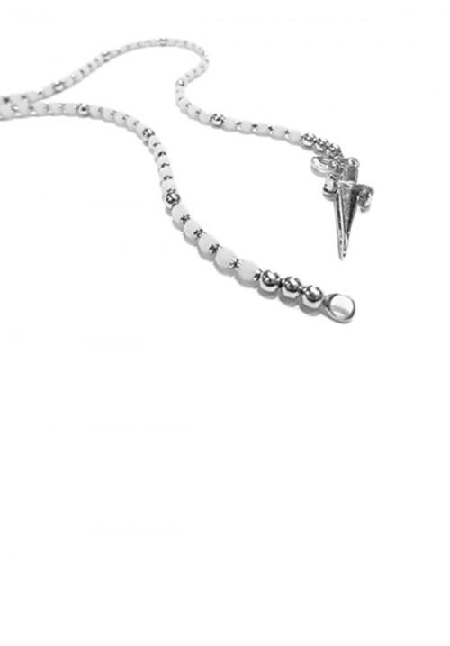 Collana Unisex Cesare Paciotti Jewels - Pietre Bianche faccettate