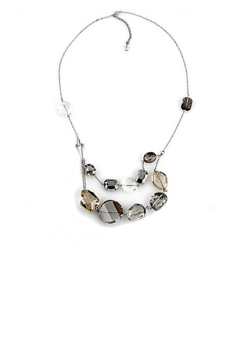 Collana Donna Cesare Paciotti Jewels - Argento e cristalli