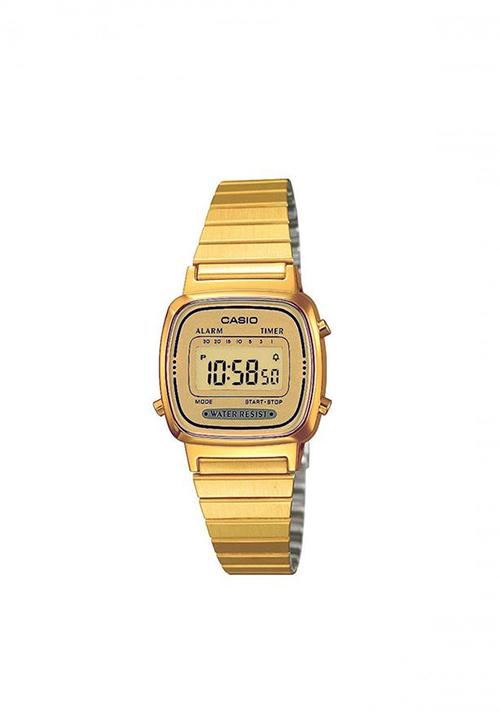 Orologio Casio Vintage dorato - LA670WGA-9DF