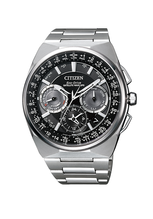 Orologio Uomo Citizen Satellite Wave GPS F900 - CC9008-84E