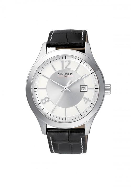 Orologio Uomo Vagary - Solo Tempo | Silver