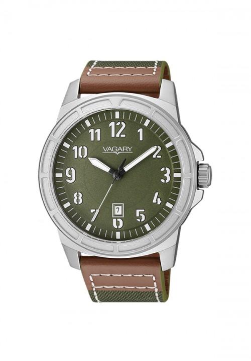 Orologio Uomo Vagary - Solo Tempo | Verde