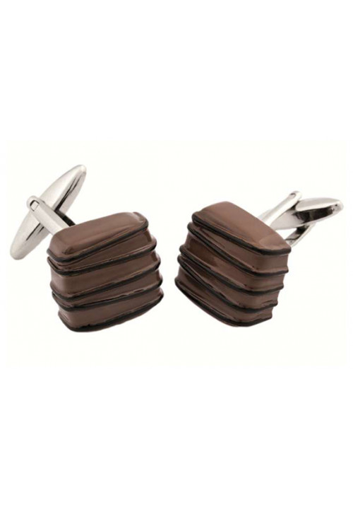 Gemelli da polso cioccolatino