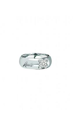 ReCarlo Anello Fascia - Oro bianco 18 Kt e Diamanti Carati Totali 0.10