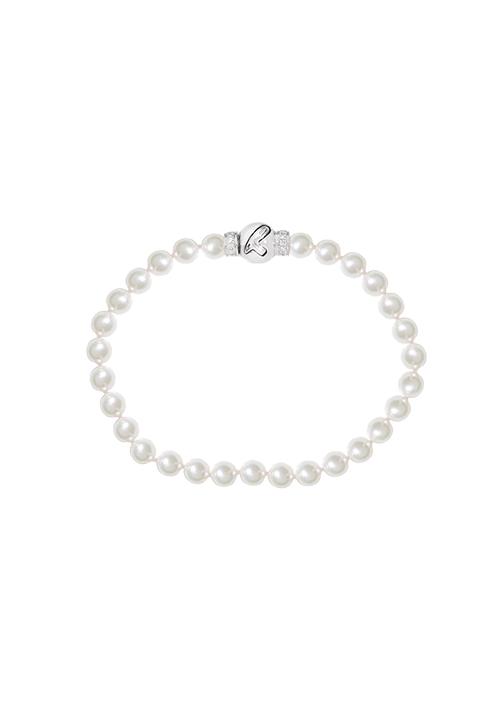 ReCarlo Bracciale Perle Giapponesi - Chiusura oro 18 kt e diamanti | 5.5 - 6 mm