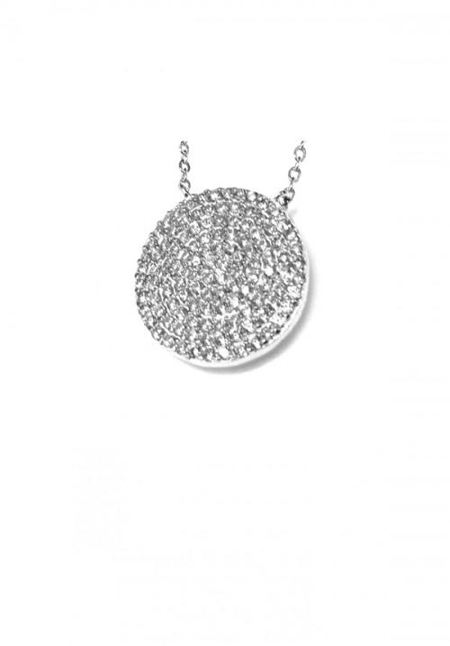 Collana Donna in Argento e Zirconi - Brillante