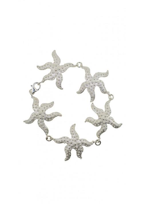 Bracciale in argento 925 - Stelle marine