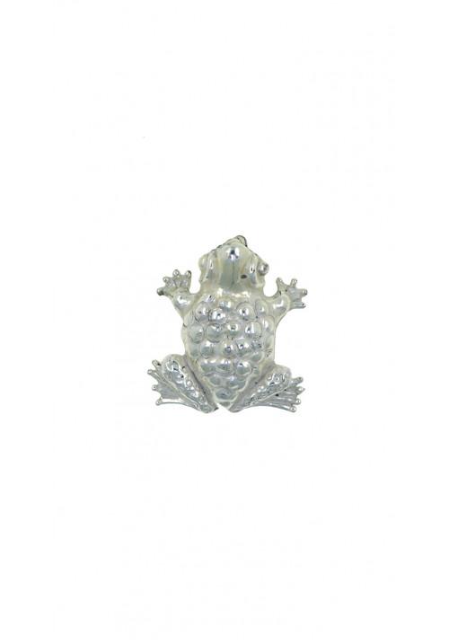 Ciondolo in argento 925 rana