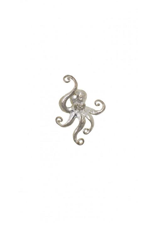 Ciondolo in argento 925 | Forma di polipo