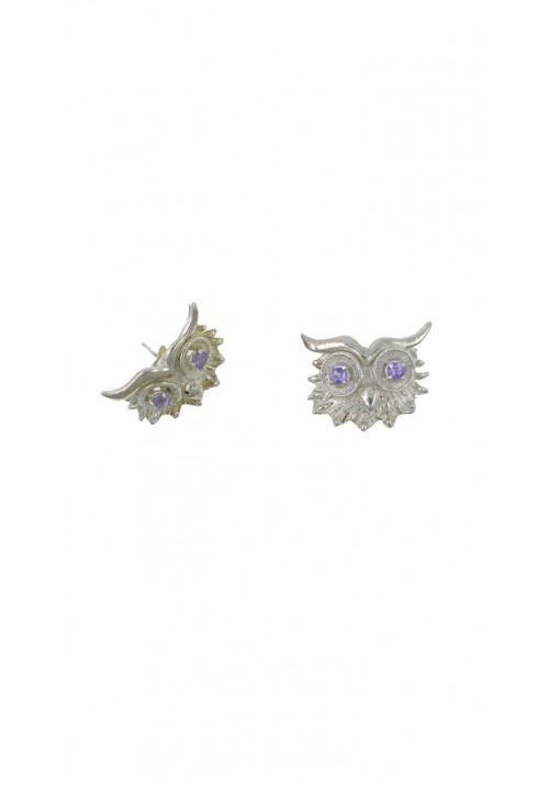 Orecchini argento 925 e Ametista