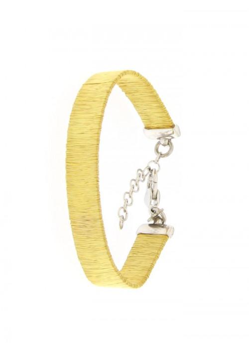 Bracciale Donna in Argento dorato - Modello Elegant - BR76ZW