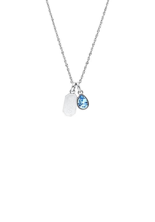 Collana Brosway Tres Jolie - Ciondolo con cristallo swarovski - BTJMS692