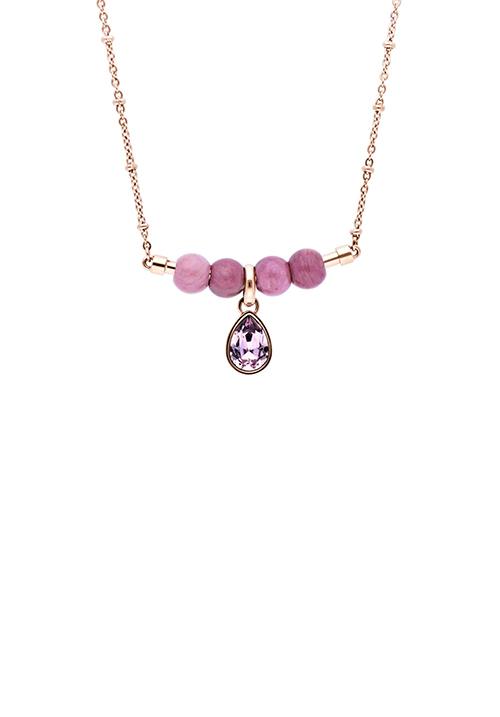 Collana Brosway Tres Jolie - Ciondolo con cristallo swarovski - BTJMS694