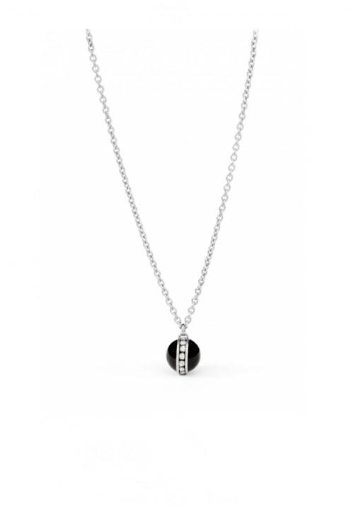 Collana Brosway - Collezione Elizabeth | Pietra nera con Cristalli