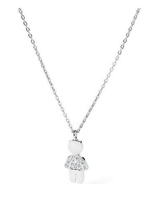 Collana Brosway collezione Mini- ciondolo bimbo con cristalli  | BNI02