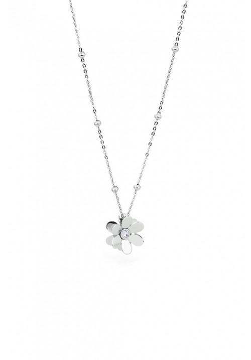 Collana Brosway - Ciondolo a forma di margherita con cristalli swarovski - BJR02