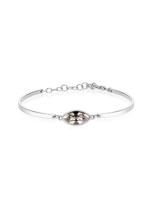 Bracciale Brosway -  Collezione Chakra - Centrale cristallo ovale grigio