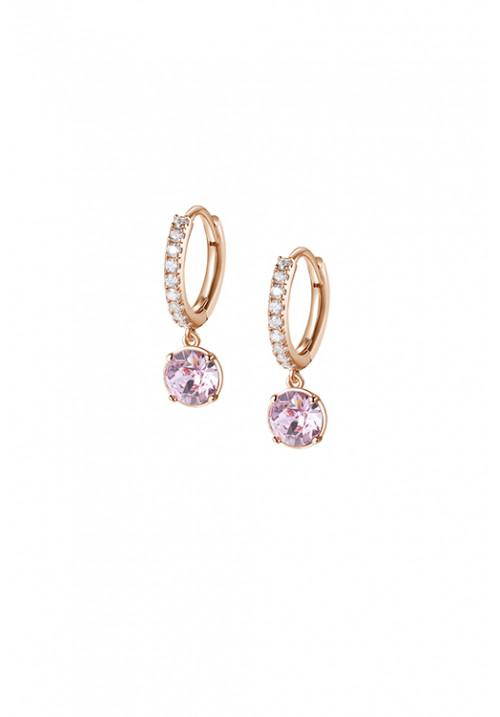 Orecchini Brosway Collezione Affinity Cerchietto e Cristalli Swarovski - oro rosa - bff139