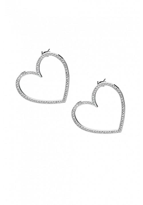 Orecchini Brosway Collezione Minuetto a forma di cuore con Cristalli Swarovski - BMU21