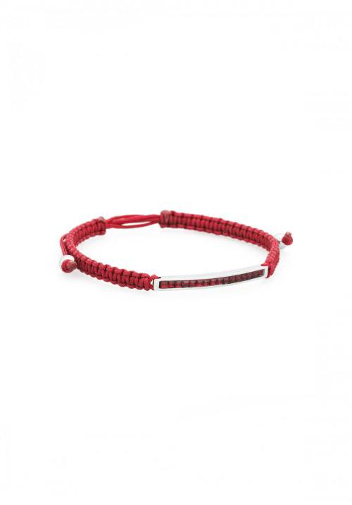 Bracciale Brosway - Collezione Macrame | Rosso