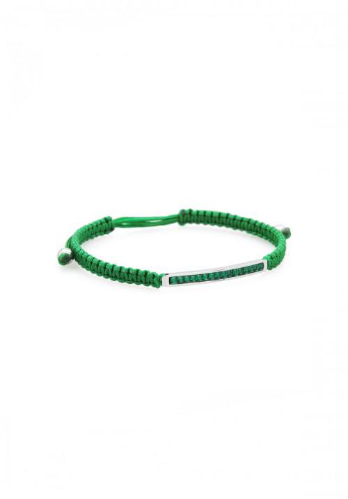 Bracciale Brosway - Collezione Macrame | Verde