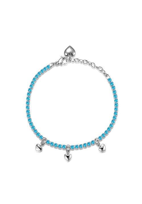 Bracciale Brosway -  Collezione Desideri|blu con cuore