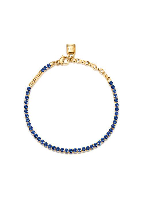 Bracciale Brosway -  Collezione Desideri|blu con lucchetto