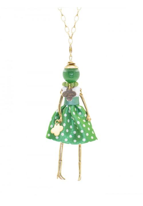 Collana Le Carose in argento 925 verde