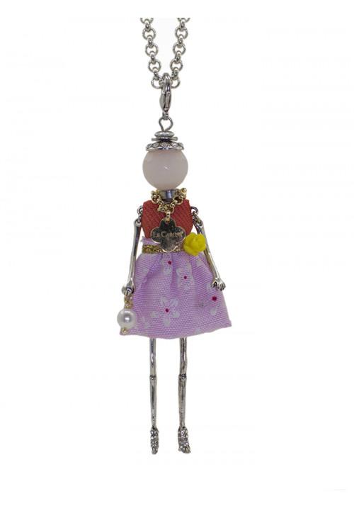 Collana Le Carose lilla