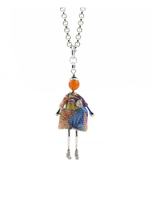 Collana Le Carose - Carosina arancione