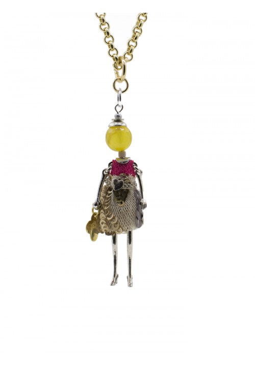 Collana Le Carose - Carosina gialla