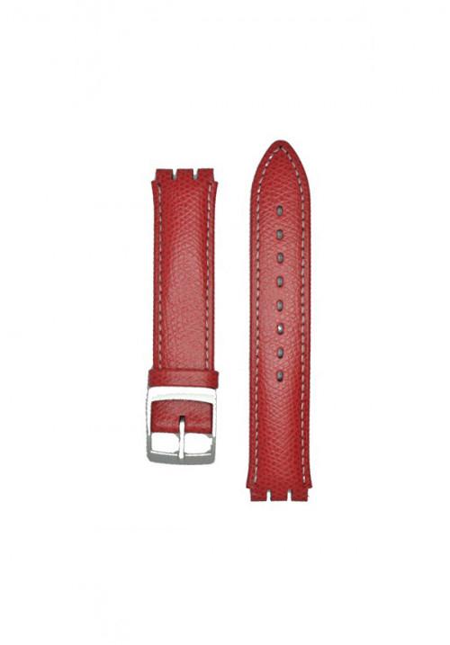 Cinturino Hirsch Mel in Rosso
