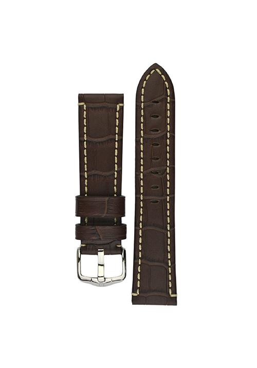 Cinturino Hirsch Knight marrone scuro