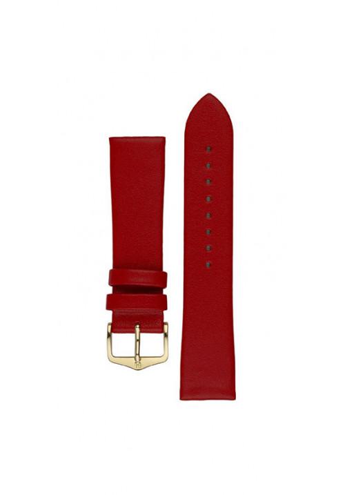 Cinturino Hirsch Diamond Calf rosso
