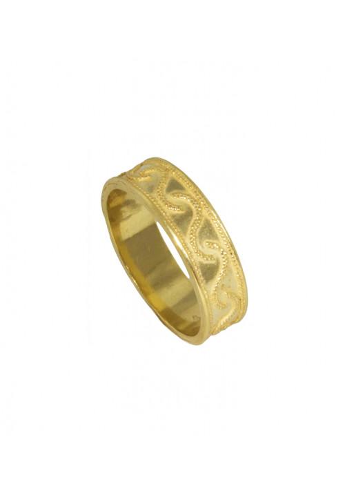 Anello in Oro 18kt stile etrusco