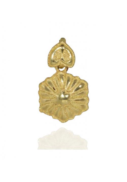 Ciondolo in oro 18kt stile etrusco