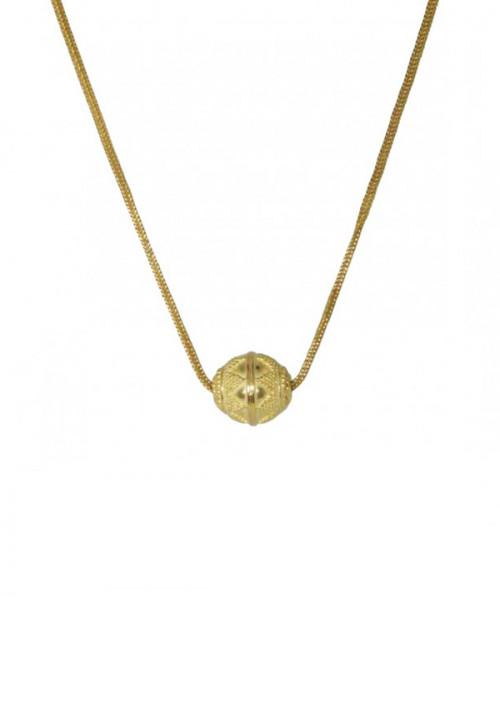 Collana in oro 18kt stile etrusco