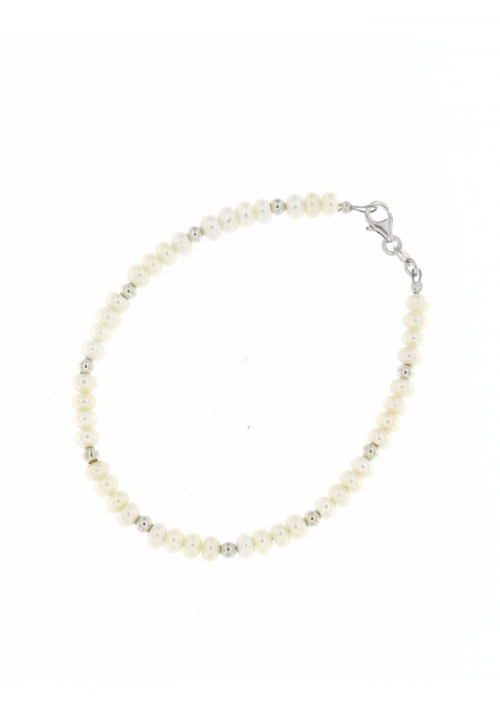 Bracciale Perle e Argento - PLBR05AR
