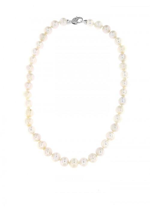 Collana perle di fiume Chiusura Argento 925 - PLCL11AR